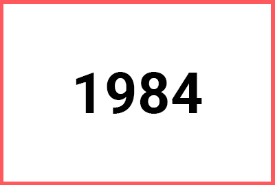 Class Notes – 1984