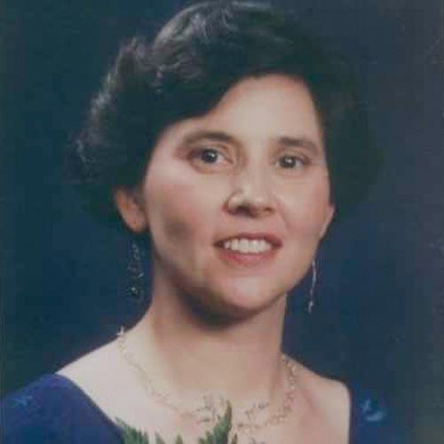 Image of Frances Cate Thomas smiling at camera