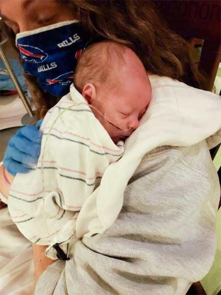 Image of Christina Hooks Copersito's baby
