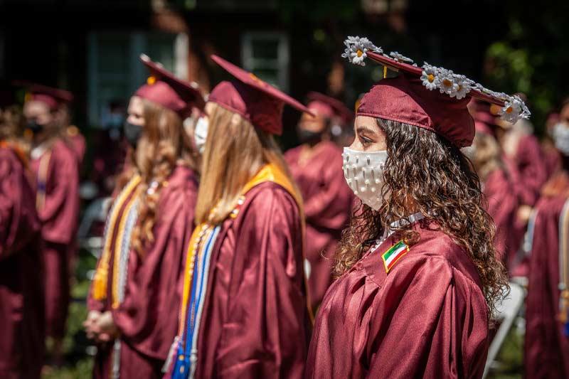 Students at gradution